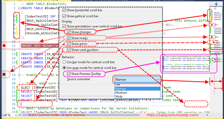 SSMS-01_EditorExample-OptionsDialog-Highlighted